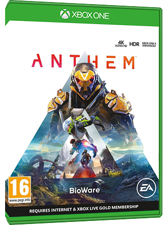 Anthem - Xbox One Download Code Screenshot