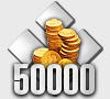 50000 WoW Gold